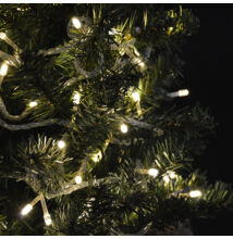 LED svetelné reťaze 100LED teplé biele