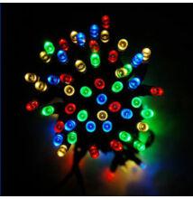 LED svetelné reťaze 140LED zelený kábel viacfarebné