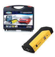 Power bank externá batéria jump starter pre štartovanie auta s LED lampou a kompresom