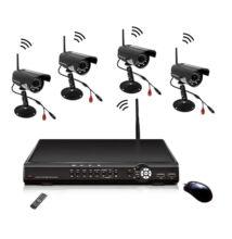Bezdrôtový CCTV systém s 4-kanálovým nahrávaním
