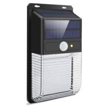 LED solárna stenová lampa s akumulátorom detekcia pohybu 36LED JYC001