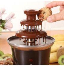 Trojposchodová čokoládová fontána fondue
