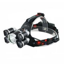 Five Light vysoko jasná LED čelovka 5LED nabíjateľná
