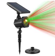 Vonkajšie vianočné osvetlenie solárny laser