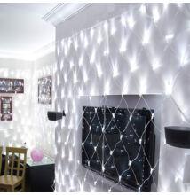 LED Sieť na vnútorné použitie 1,6x1,2m studená biela