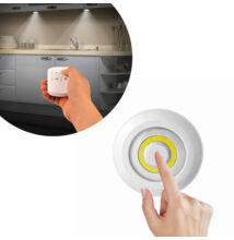 Sada 3 COB LED svetiel s diaľkovým ovládačom do interiéru