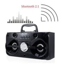 Bluetooth prenosný multimedia prehrávač MP3 USB FM rádio TF MS-180BT