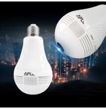 WiFi CCTV kamera v LED žiarovke + detekcia pohybu
