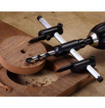Nastaviteľný vykružovák na drevo, sadrokartón 30-120mm