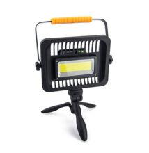 Silná pracovná lampa s akumulátorom COB 50W prenosná W829