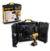 Straus 92 dielna double 24V akumulátorová vŕtačka v praktickom kufríku