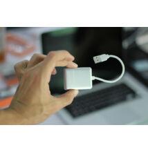 USB 2.0 hub 4 porty hliníkový kryt