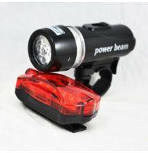 Set dvoch LED svetiel na bicykel vodeodolné