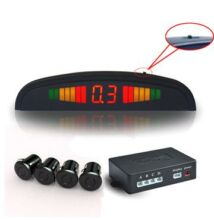 Parkovacie senzory so 4 snímačmi s LCD displejom