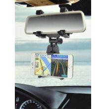 Univerzálny držiak na mobil do auta na spätné zrkadlo