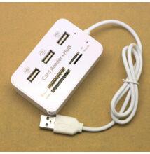Čítačka kariet USB Zásuvka 2v1