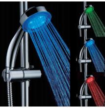 LED sprchová hlavica meniaca farbu
