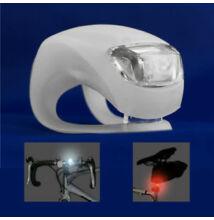 Set dvoch LED svetiel na bicykel vodeodolné silikón
