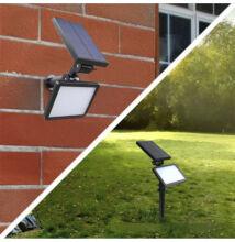 Solárna LED lampa záhradná aj na stenu