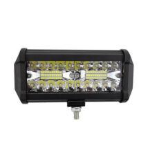 Prídavné LED svetlo na pracovné stroje offroad autá 120W 165mm IP68 10-30V