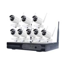 Bezdrôtový CCTV systém s 8-kanálovým nahrávaním