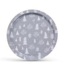 Vianočná tácka kov 31cm 55932G