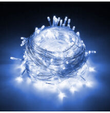 LED svetelné reťaze 100LED modré