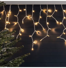Cencúle 180 LED Teplé biele 5m