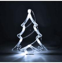 LED dekorácia do okna stromček 20cm studená biela