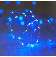 10M LED dekoračný svetelný drôt vodeodolný MODRÁ farba