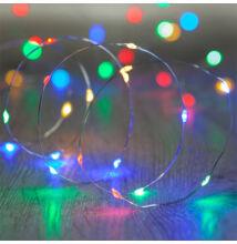 10M LED dekoračný svetelný drôt vodeodolný VIACFAREBNÝ