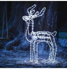 LED pohyblivá vianočná dekorácia SOB 120cm studená biela