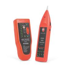 Vyhľadávač káblových párov so zvukovou signalizáciou LED RJ45 testerom káblov