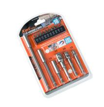 KMT Tools Súprava bitov vrtákov nástrčných kľúčov 16 dielna