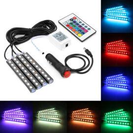 LED osvetlenie pedálov a priestoru na nohy