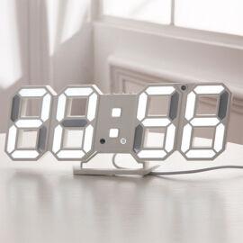 Stolné digitálne hodinky s LED číselníkmi DS-6609
