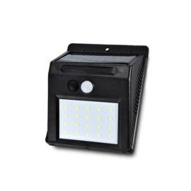 LED solárna stenová lampa s akumulátorom, detekcia pohybu 20LED