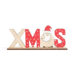 Vianočná LED ozdoba na policu mikuláš 21x4x8,5cm 58249A