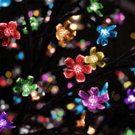 LED dekoračný strom 130 cm VIACFAREBNÝ
