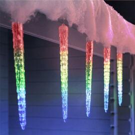 LED cencúle efekt topiaceho sa ľadu 50cm RGB farebné extra realistické