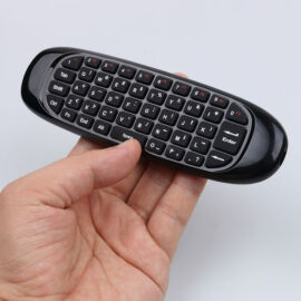 Bezdrôtové diaľkové ovládanie, klávesnica a myš