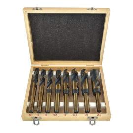 BLACK HSS sada vrtákov v drevenej krabici 8 kusov 33004