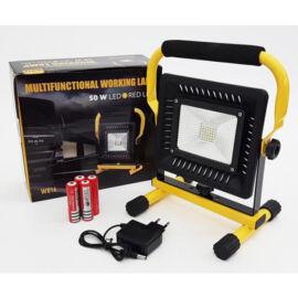 Silná pracovná LED lampa s akumulátorom 50W W816