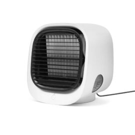 Prenosný mini chladič vzduchu USB biela