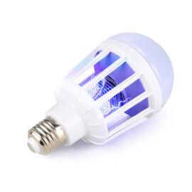 LED žiarovka s UV lapačom hmyzu 2v1 E27 15W