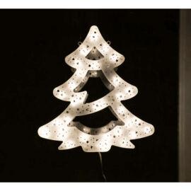 LED dekorácia do okna stromček 40cm teplá biela