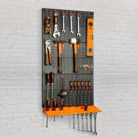 Organizér držiak náradia na stenu 3 ks tabúľ 50 x 33 cm