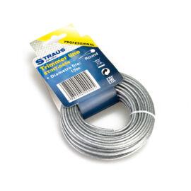 Straus oceľové lano na krovinorezy strunové kosačky 3mmx15m