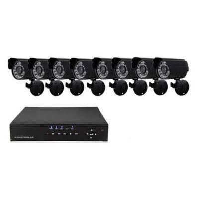 CCTV systém s 8-kanálovým nahrávaním