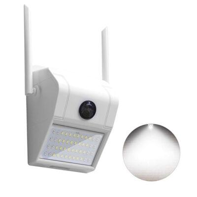 Bezdrôtová WiFi IP HD kamera a LED lampa nočné videnie V380